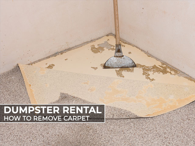 Dumpster-Rental-How-to-Remove-Carpet