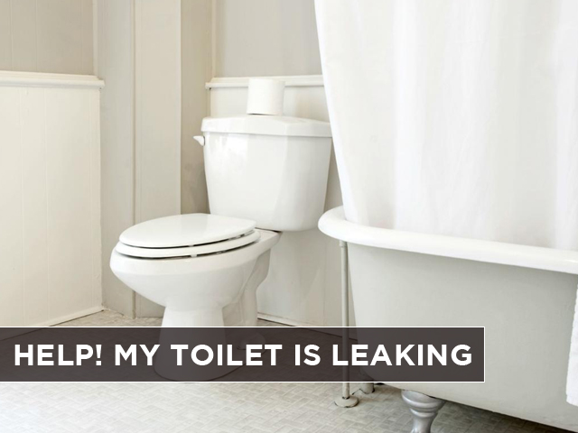 Help My Toilet Is Leaking