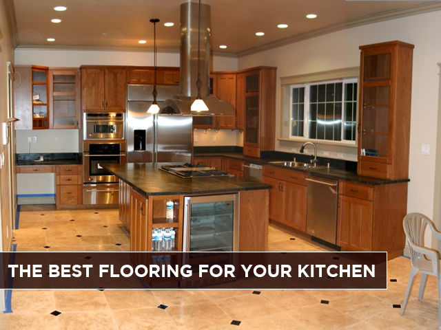 good kitchen flooring the best flooring for your kitchen abh services inc 1264