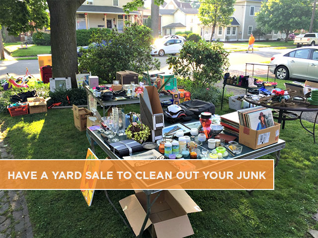 Have a Yard Sale to Clean Out Your Junk