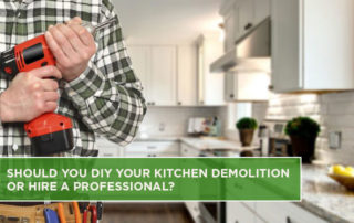 Should You DIY Your Kitchen Demolition or Hire a Professional