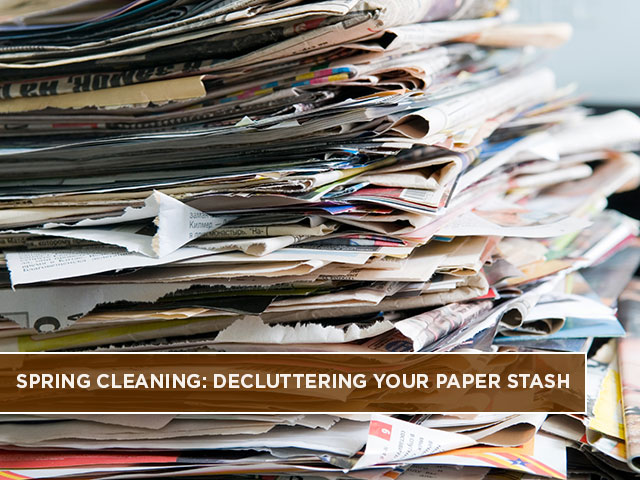Spring Cleaning: Decluttering Your Paper Stash