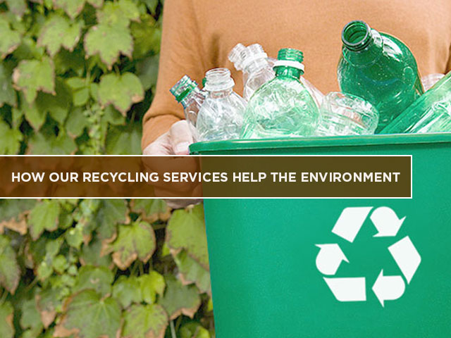 How Our Recycling Services Help the Environment