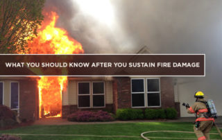 What You Should Know After You Sustain Fire Damage