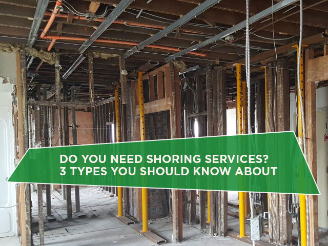 Do You Need Shoring Services? 3 Types You Should Know About
