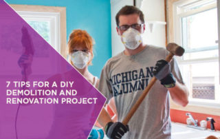 7 Tips for a DIY Demolition and Renovation Project