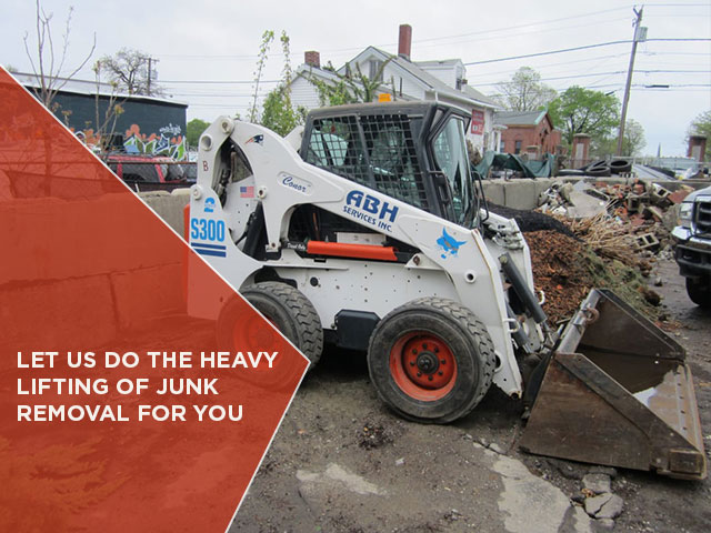 LET US DO THE HEAVY LIFTING OF JUNK REMOVAL FOR YOU