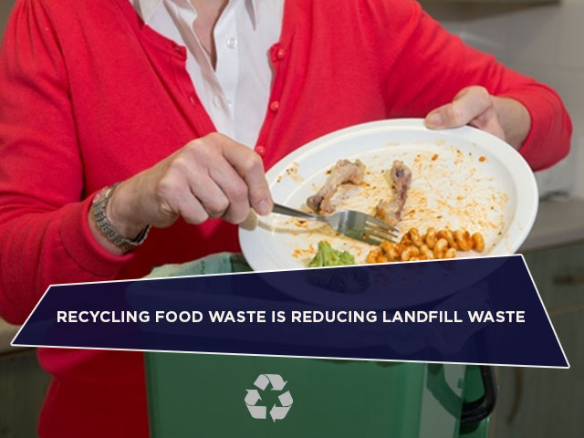Recycling Food Waste Is Reducing Landfill Waste