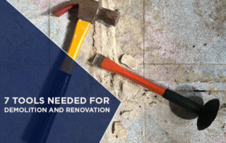 7 Tools Needed for Demolition And Renovation